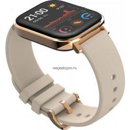 Ceas smartwatch Amazfit GTS, Desert Gold