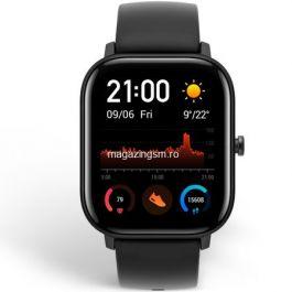 Ceas smartwatch Amazfit GTS Obsidian Black