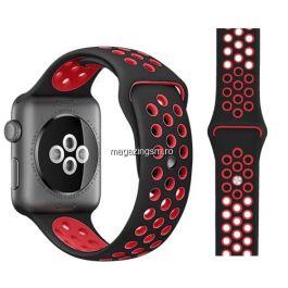 Curea Apple Watch Series 4 / 5 44mm Series 1 / 2 / 3 42mm Neagra