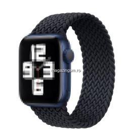 Curea Apple Watch Series 4 / 5 / 6 SE 44mm Series 1 / 2 / 3 42mm Elastica Neagra