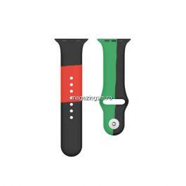 Curea Apple Watch Series 4 / 5 / 6 SE 44mm Series 1 / 2 / 3 42mm Silicon Colorata