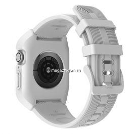 Curea Apple Watch Series 4 / 5 / 6 SE 44mm Silicon Alba