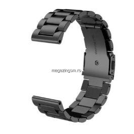 Curea ceas metalica pentru Samsung Watch 42mm-20mm neagra
