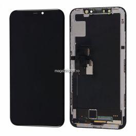 Display cu touchscreen Apple iPhone 11, Refurbished, Negru