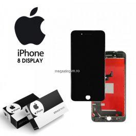 Display cu touchscreen Apple iPhone 8, Refurbished, Negru