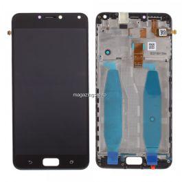 Display Cu Touchscreen Asus ZenFone 4 Max ZC554KL  Negru