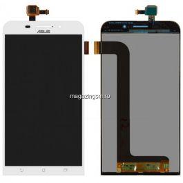 Display Cu Touchscreen Asus Zenfone Max ZC550KL Alb
