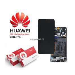 Display cu touchscreen Huawei P30 Lite New Edition 2020 24MP, Original, Negru
