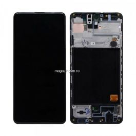 Display Cu Touchscreen Samsung Galaxy A51 A515 Original Negru