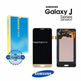 Display Cu Touchscreen Samsung Galaxy J3 J320 Original Gold