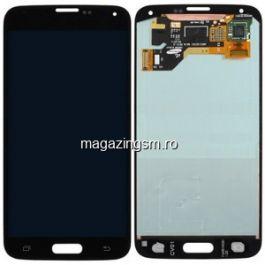 Display Cu Touchscreen Samsung Galaxy S5 Negru Original Refurbished