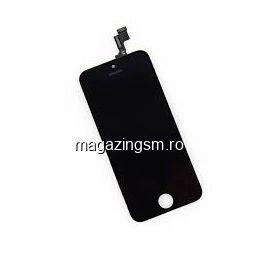 Display iPhone 5s cu TouchScreen si Geam Negru - Promotie