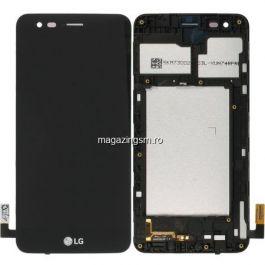Display LG K4 2017 M160 Cu RAMA Si Touchscreen Negru