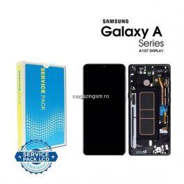 Display Samsung A107 (A10s 19) Cu Touchscreen Original Negru