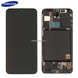 Display Samsung Galaxy A40 Original Negru