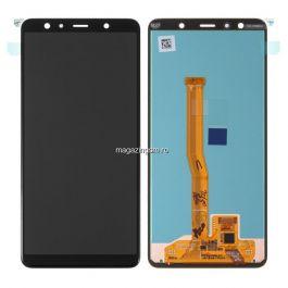 Display Samsung Galaxy A7 A750 2018 Cu Touchscreen Negru