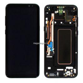 Display Samsung Galaxy S8+ G955 Original Negru