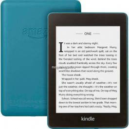 eBook reader Kindle Paperwhite 2018, 300 ppi, rezistent la apa, 32GB, albastru