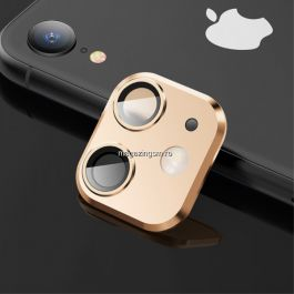 Folie protectie camera Apple iPhone XR, Gold