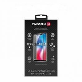 Folie protectie Sticla 3D, Full Glue Samsung Galaxy S8, Negru