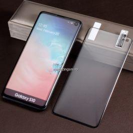Folie Samsung Galaxy S10 Protectie Display Acoperire Completa Neagra