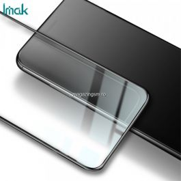 Folie Sticla Motorola Moto E6s (2020) Protectie Ecran Acoperire Completa Neagra