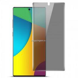 Folie Samsung Galaxy Note 10 N970 Protectie Display Anti Spy Acoperire Completa