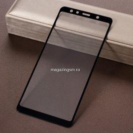 Geam Protectie Display Samsung Galaxy A7 A750 2018 Acoperire Completa Negru