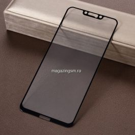Geam Sticla Protectie Display Huawei Mate 20 lite Acoperire Completa Negru