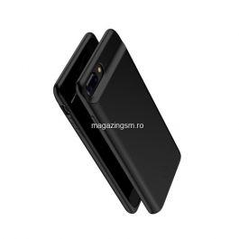 Husa Acumulator Extern Power Bank iPhone 8 Plus / 7 Plus / 6s Plus / 6 Plus Neagra