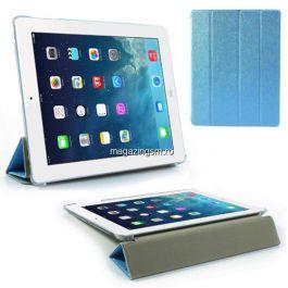 Husa Flip Cu Stand iPad 2 3 4 Albastra