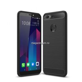 Husa HTC Desire 12 Plus Carbon Neagra