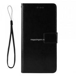 Husa HTC Desire 20 Pro Flip Cu Stand Neagra