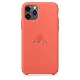 Husa iPhone 11 Pro Silicon Orange