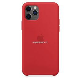 Husa iPhone 11 Pro Silicon Red