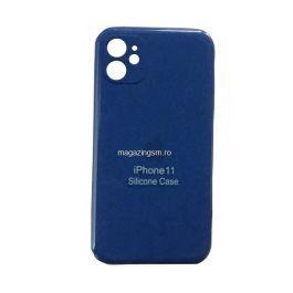 Husa iPhone 11 Silicon Cu Protectie Camera Sky Blue