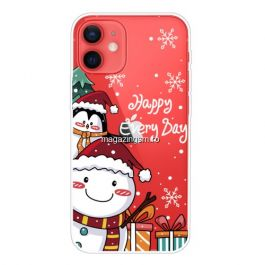 Husa iPhone 12 Mini Happy Every Day TPU Colorata