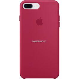 Husa iPhone 7 Plus / 8 Plus Silicon Rose Red