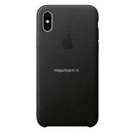 Husa iPhone X / XS Piele Folio Black