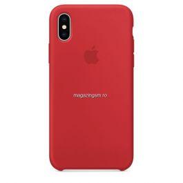 Husa iPhone X / XS Silicon Red