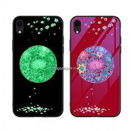 Husa iPhone XR Cu Spate Din Sticla Colorata