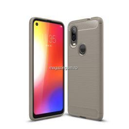 Husa Motorola One Vision / P50 TPU Gri