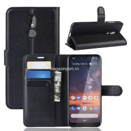 Husa Nokia 3,2 Flip Cu Stand Neagra