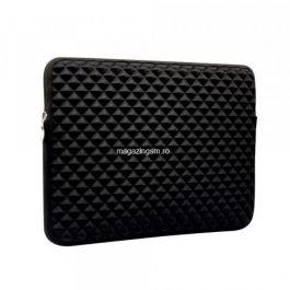 Husa Protectie Tip Portofel Macbook Air 13,3 inch Neagra