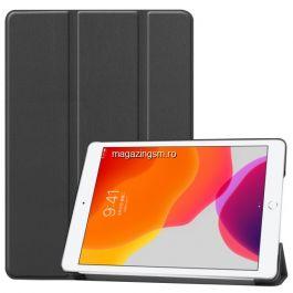 Husa Tableta iPad 10,2 2019 / 2020 Flip Cu Stand Neagra