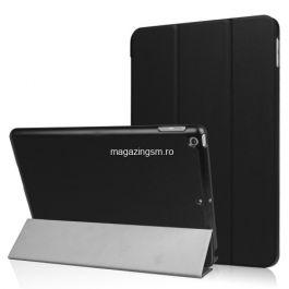 Husa Tableta iPad 9,7 2017 / 2018 Flip Cu Stand Neagra