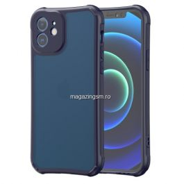 Husa Telefon iPhone 12 Mini Dura Albastra