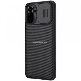 Husa Telefon NILLKIN Xiaomi Redmi Note 10 / Note 10S Dura Cu Protectie Camera Neagra
