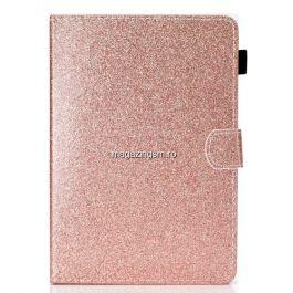 Husa Huawei Lenovo Samsung Tableta 8,0 inch Flip Cu Stand Roz Aurie