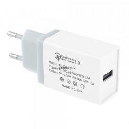 Incarcator Retea 3,5 A QC 3,0 Cu Mufa USB Gri
